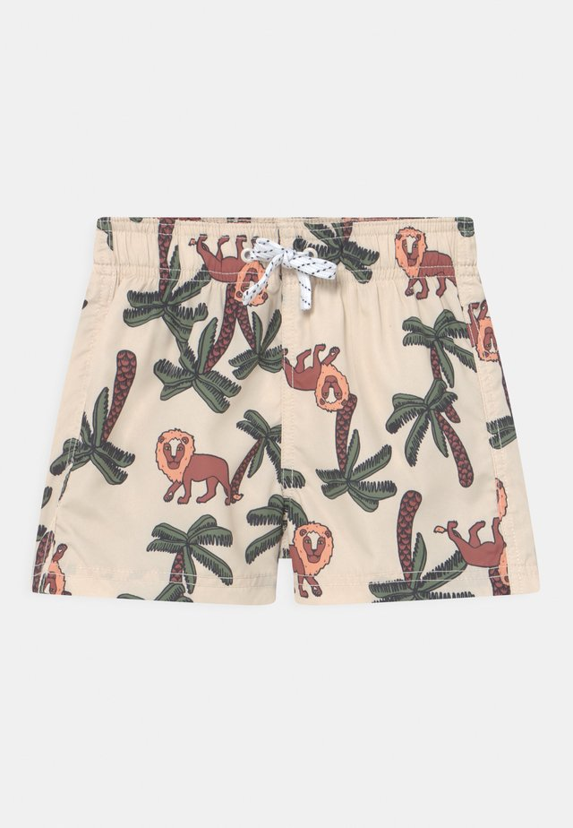 LION IN TREE - Badeshorts - beige