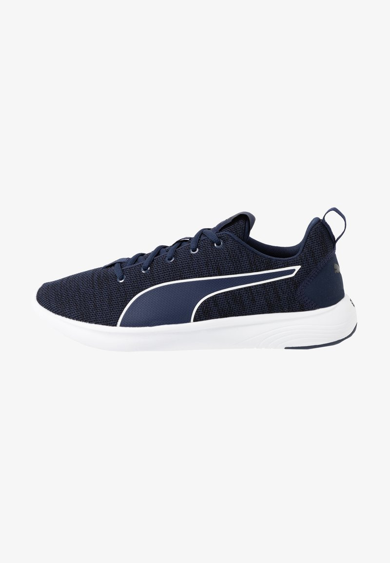 Puma - SOFTRIDE VITAL CLEAN - Zapatillas de running neutras - peacoat/black/white