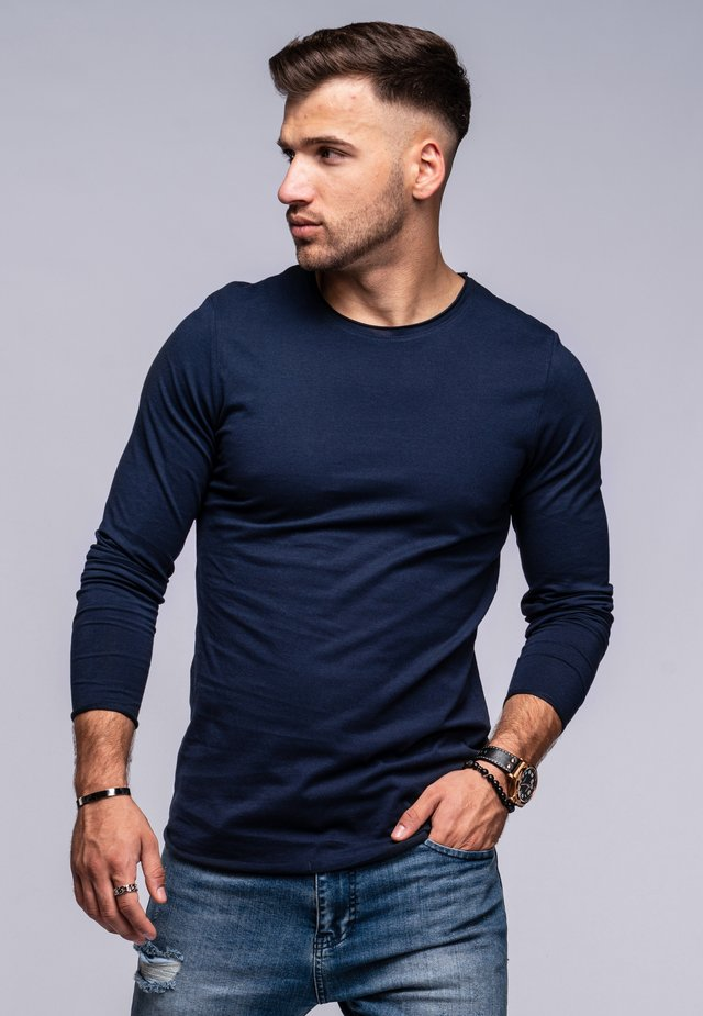 INFINITY  - Long sleeved top - navy blazer