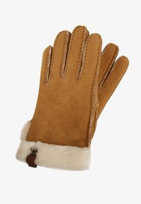 UGG - SHORTY GLOVE TRIM - Gloves - chestnut - 0