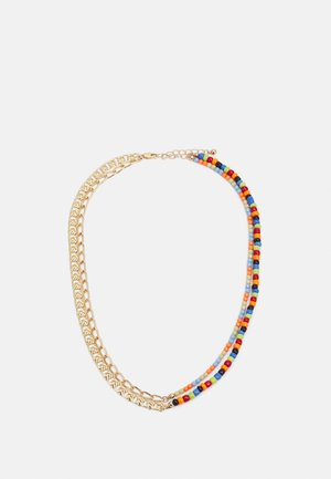 PCMILLE COMBI NECKLACE - Necklace - gold-coloured/multi