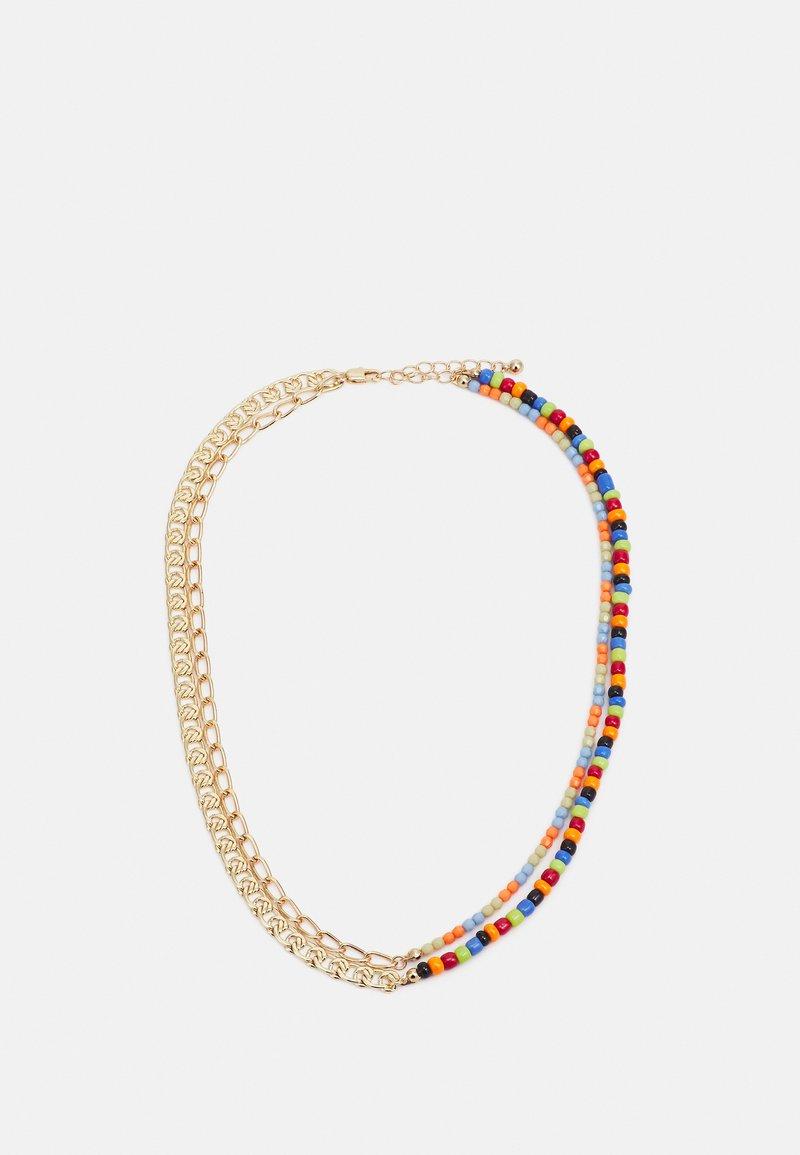Pieces - PCMILLE COMBI NECKLACE - Necklace - gold-coloured/multi