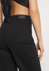Lee - STELLA A LINE - Relaxed fit jeans - black parker - 4