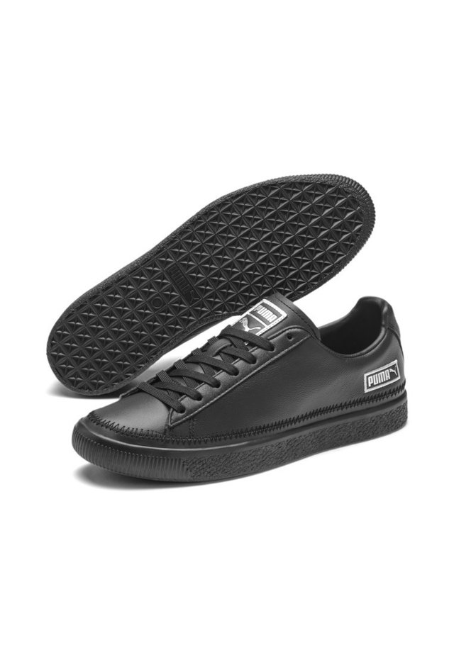 Trainers - puma black-silver