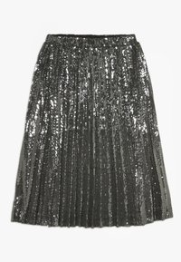 Bardot Junior - IVA SEQUIN PLEAT - Plooirok - gunmetal