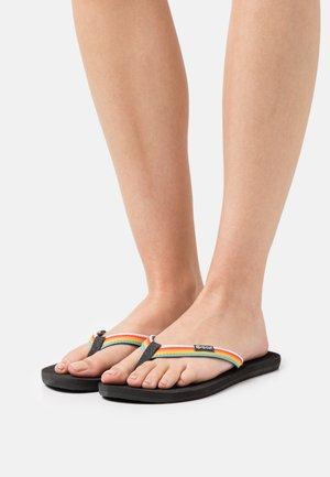 FREEDOM - T-bar sandals - multicolor/grey