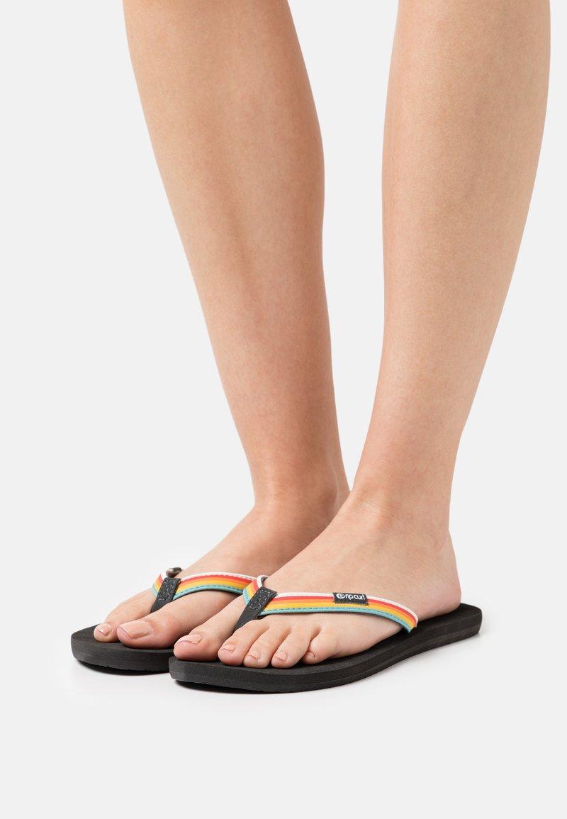 Rip Curl - FREEDOM - T-bar sandals - multicolor/grey