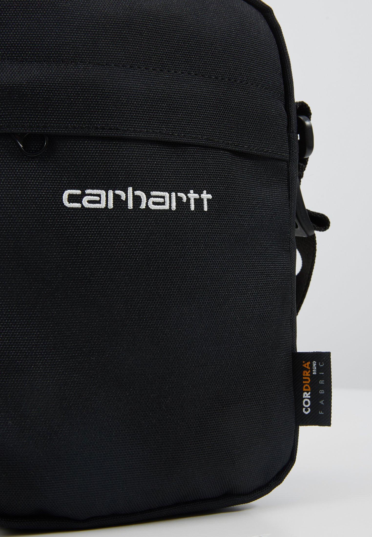 Carhartt WIP PAYTON SHOULDER POUCH - Skulderveske - black/white