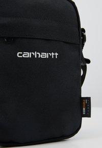 Carhartt WIP - PAYTON SHOULDER POUCH UNISEX - Taška spříčným popruhem - black/white - 7