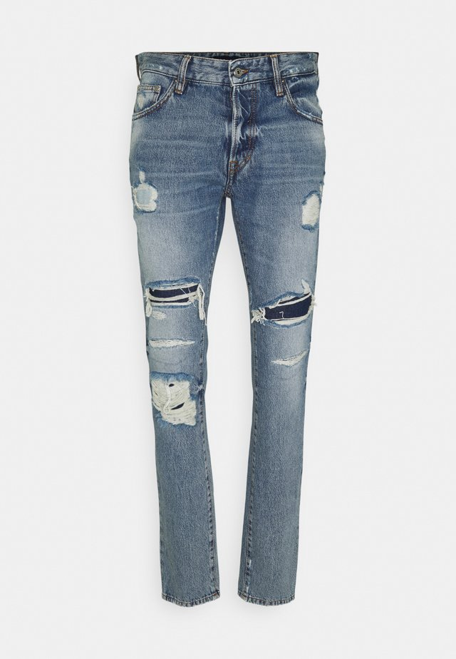 PANTALONE - Jean slim - blue denim