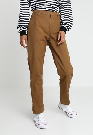 PIERCE PANT - Tygbyxor - hamilton brown rinsed