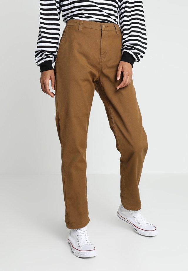PIERCE PANT - Trousers - hamilton brown rinsed