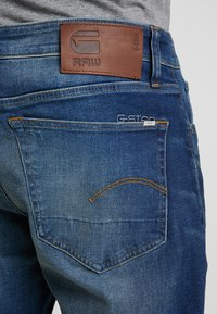 G-Star - 3301 STRAIGHT FIT - Straight leg jeans - joane stretch denim - worker blue faded - 5