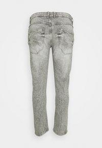URBN SAINT - GENEVE DESTROY - Slim fit jeans - dust grey - 1