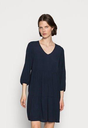 V NECK BABYDOLL DRESS - Denní šaty - sky captain blue
