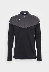 ZIP CHAMP 2.0 - Fleece jumper - schwarz/anthrazit