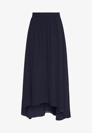LUX FLUID  - Maxi skirt - navy