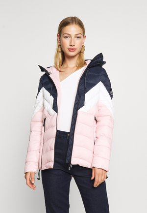 COLOUR BLOCK ECLIPSE PADDED JACKET - Veste d'hiver - chalk pink
