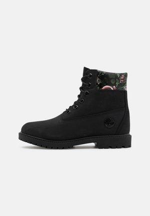 6IN CUPSOLE - Šněrovací kotníkové boty - black