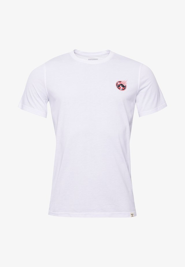 T-shirt con stampa - optic