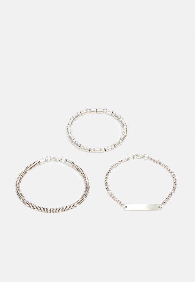 UNISEX 3 PACK - Bracciale - silver-coloured