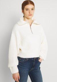 Gina Tricot - LESLIE - Jumper - warm white - 3
