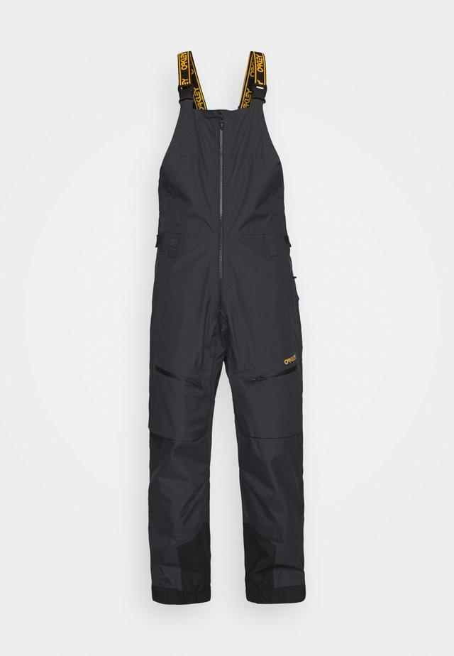 GUNN SHELL BIB - Snow pants - blackout