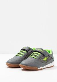 KangaROOS - RACE YARD - Sneakers - steel grey/lime - 3