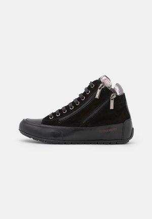 LUCIA ZIP - Sneakers hoog - nero