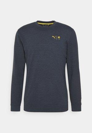 PALM TREE GOLDEN CREW - Bluzka z długim rękawem - navy blazer