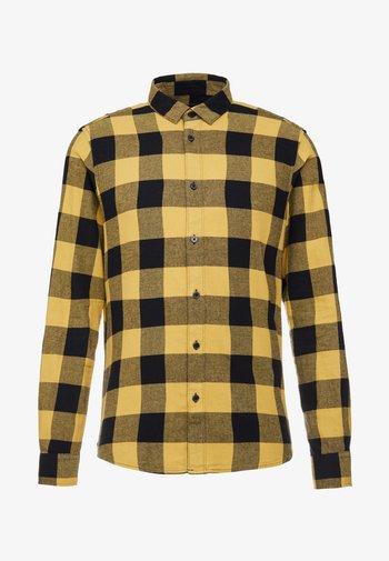 ONSGUDMUND CHECKED - Shirt - burnished gold