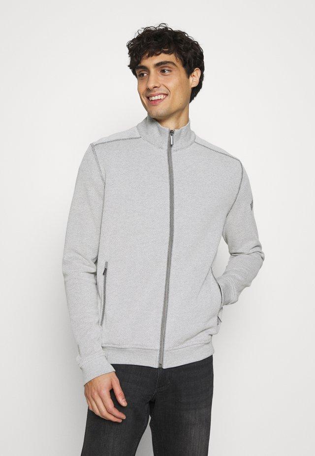 JACKET - Cardigan - beige/grey