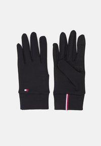 Tommy Hilfiger - WOMEN'S TOUCH GLOVES - Gloves - black - 0