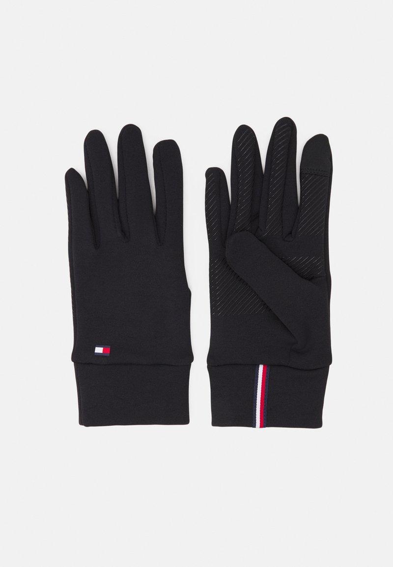 Tommy Hilfiger - WOMEN'S TOUCH GLOVES - Gloves - black