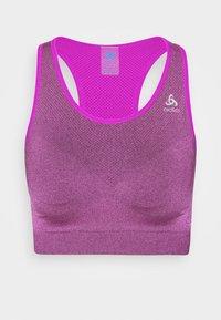 SPORTS BRA SEAMLESS MEDIUM CERAMICOOL - Medium support sports bra - purple cactus