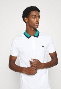 Lacoste - Polo shirt - blanc/niagara/marine - 3