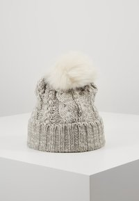 GAP - GIRL CABLE HAT - Muts - grey heather - 3
