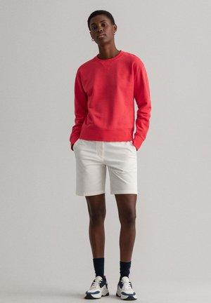 Sweatshirt - watermelon red