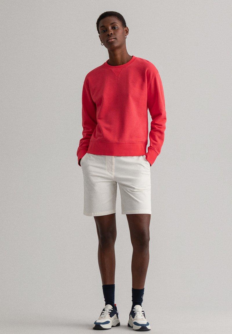 GANT - Sweatshirt - watermelon red