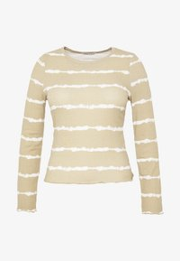 Cotton On Curve - SISTER LONG SLEEVE - Long sleeved top - marshmallow tie dye - 3