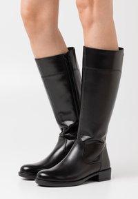 Tamaris - Vysoká obuv - black - 0