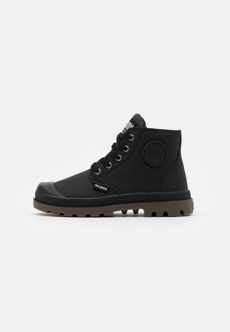 Palladium - PAMPA UNISEX - Lace-up ankle boots - black