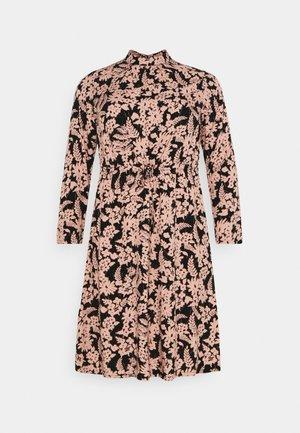 PCZINE DRESS CURVE - Day dress - black/misty rose