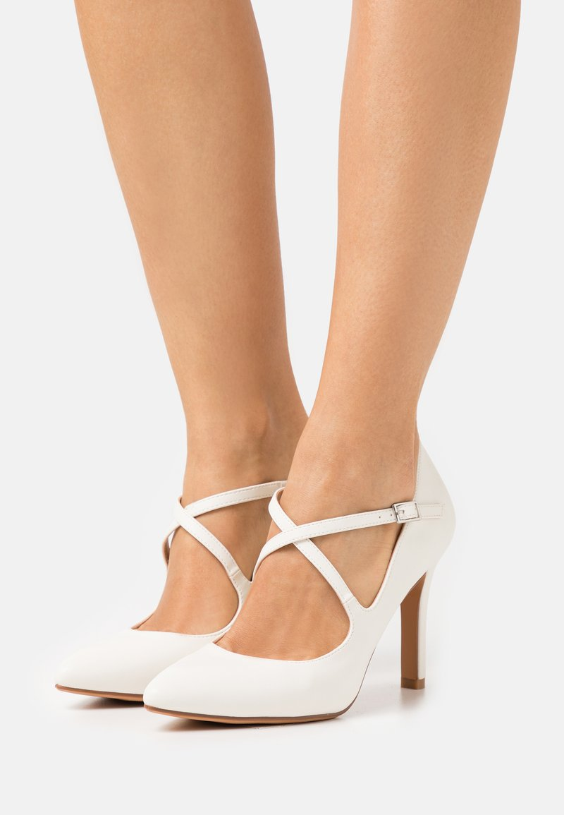 Anna Field - Zapatos altos - white