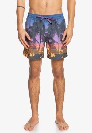 Swimming shorts - deep sea coral