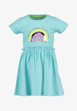 HAPPY DAYS - Jersey dress - aqua