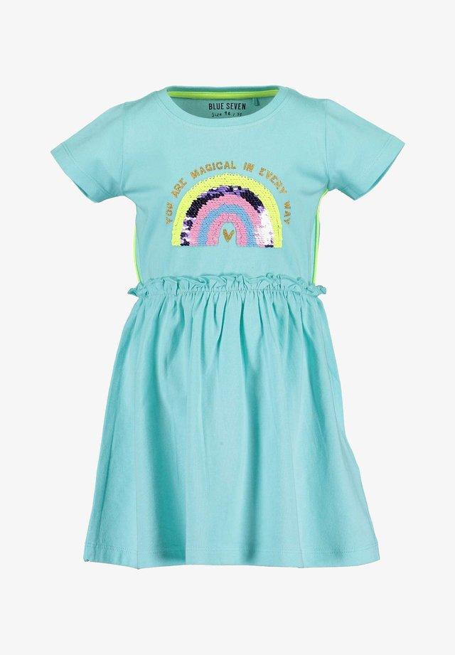 HAPPY DAYS - Sukienka z dżerseju - aqua