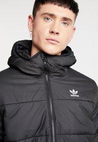 adidas Originals - ADICOLOR THIN PADDED BOMBERJACKET - Vinterjakker - black - 4
