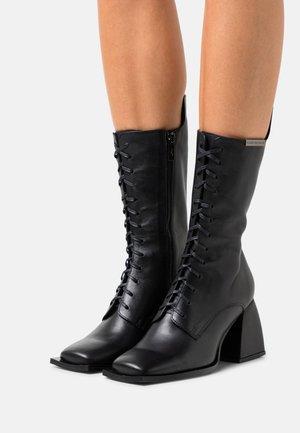 SHOES - Lace-up boots - black