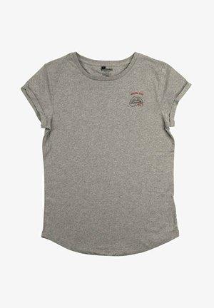 MORTAL KISS - T-shirt print - mottled grey